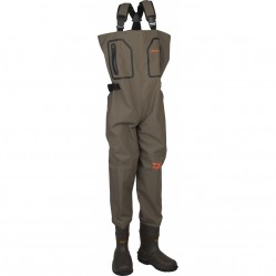Waders respirant 4 couches avec bottes