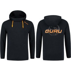 Sweat à capuche Lightweight Black Hoodie - Guru