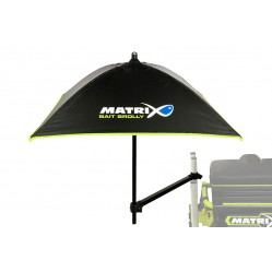 Support + ombrelles Bait brolly inc support arm - Matrix