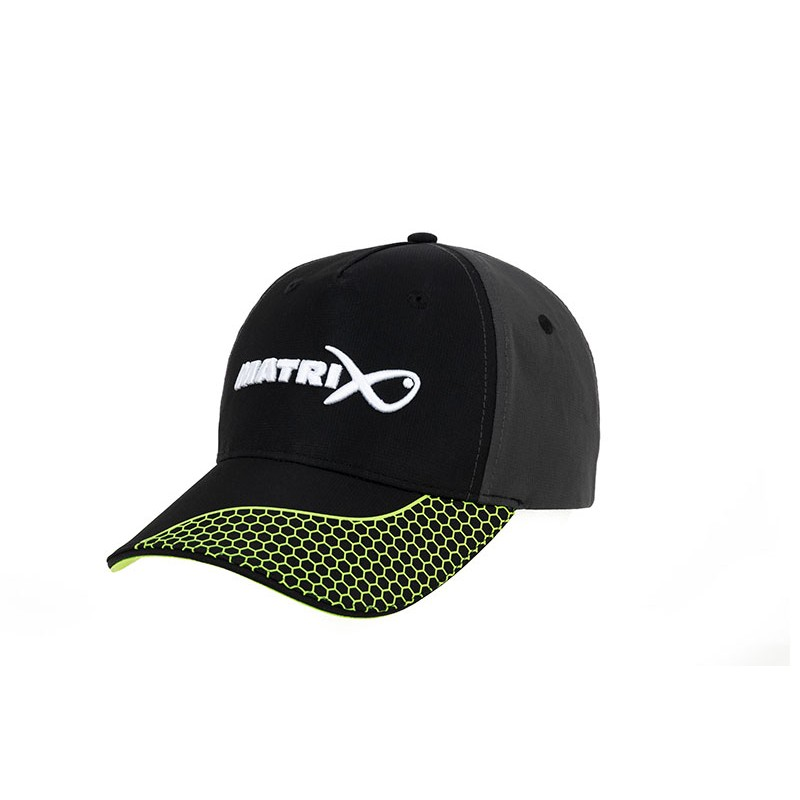 Casquette Baseball Cap Grey/Lime - Matrix