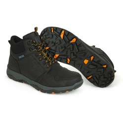Bottes Fox Collection Black & Orange Mid Boots - Fox