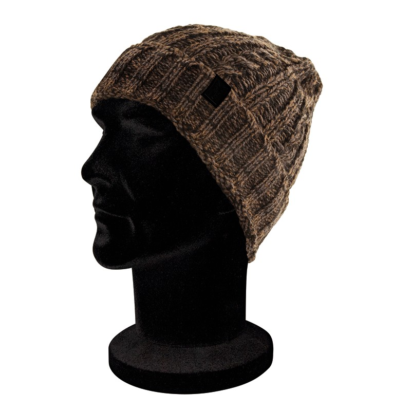 Bonnet Camo/Black Knit Beanie - Fox