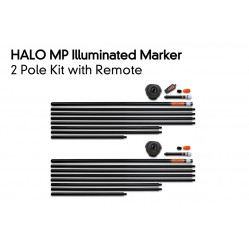 Kit de marqueurs lumineux Halo Illuminated Marker Pole – 2 Pole Kit Including Remote - Fox