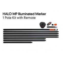 Kit de 1 marqueurs lumineux Halo Illuminated Marker Pole – 1 Pole Kit Including Remote - Fox