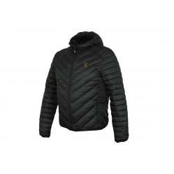 Blouson à Capuche Collection Quilted Jacket Black/Orange - Fox