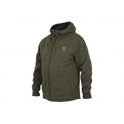 Veste Polaire Collection Sherpa Hoody Green/Silver - Fox