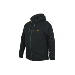 Veste Polaire Collection Sherpa Hoody Black/Orange - Fox