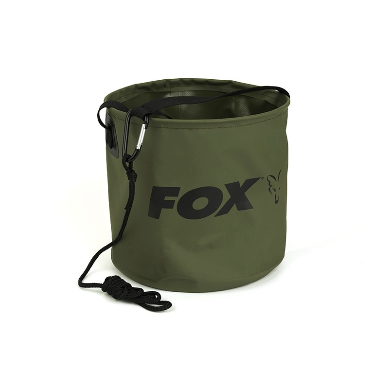 Seau Pliable Collapsible Water Bucket Large - Fox